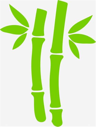 Bamboo Clipart Simple Leaves Webstockreview Painted Hand