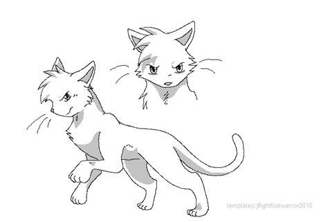 warrior cat template warrior cat template by reaper neko on deviantart