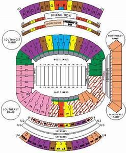 Alabama Football Stadium Seating Chart