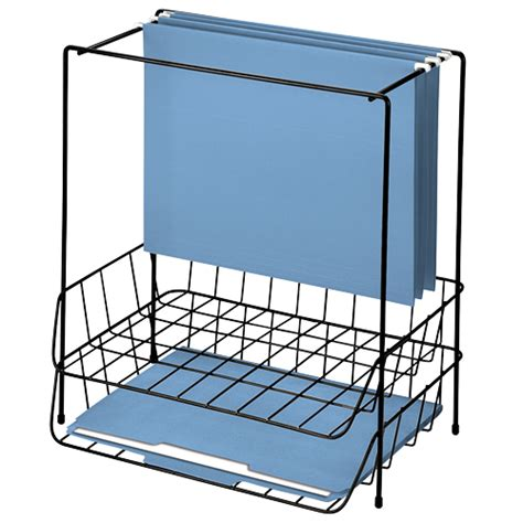 fellowes 174 wire double tray with hanging file