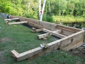 wood retaining wall construction retaining wall on pinterest retaining walls wood retaining wall and railroad ties