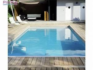 Piscine En Kit Enterrée : kit piscine complet 8 x 4 x h1 50m en blocs polystyr ne ~ Melissatoandfro.com Idées de Décoration