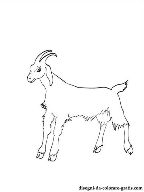 disegni capra da colorare disegni da colorare gratis