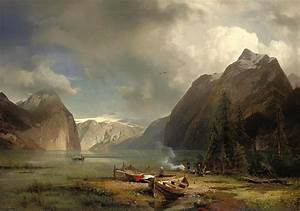 Nature's Majesty Painting by Hermann Ottomar Herzog
