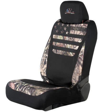 Mossy Oak Patriotic Lowback Seat Cover By Mossy Oak At