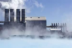 Geothermal Power Station Diagram