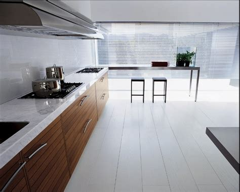 white marble kitchen floor kitchens from schiffini 1435