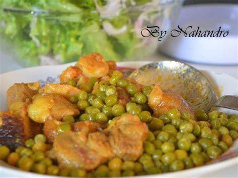 cuisiner des petits pois recettes de petits pois de nahandro cuisiner en toute simplicit 233