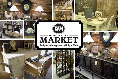 woodstock market consignment store and outdoor market