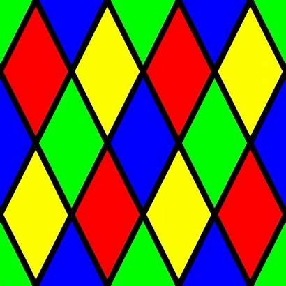 Diamond Colorful Pattern Clipart Patterns Designs Geometric