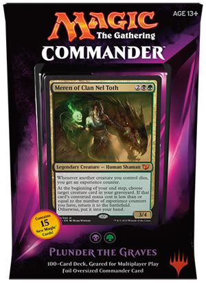 Magic The Gathering Decks by Mtg Commander 2015 Plunder The Deck On Sale At