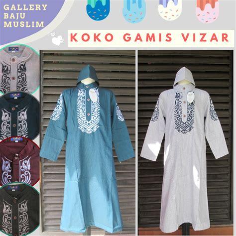 distributor baju koko gamis vizar anak laki laki murah di bandung rp 59 500 bandungbajumurah