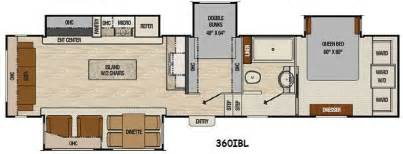 floor plan coachmen chaparral 360ibl fifth wheel bunk house search cing