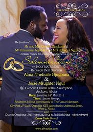 Best 25 ideas about wedding invitation cards find what youll love nigerian wedding invitation cards stopboris Image collections