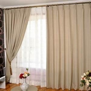 Rideau Double Voilage : double rideaux occultant rideaux et voilages ~ Teatrodelosmanantiales.com Idées de Décoration