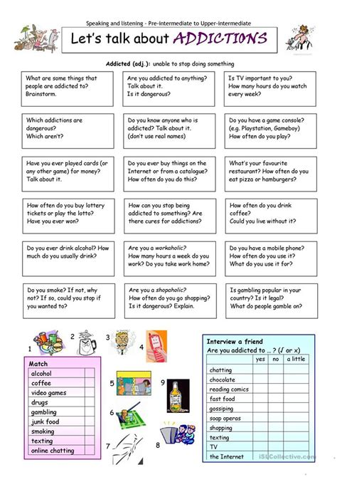 family roles in addiction worksheets free printables worksheet