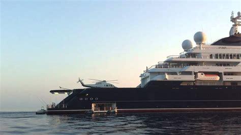 paul allen  helipad  octopus mega yacht  sfakia