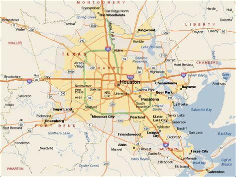 map  houston texas travelsmapscom