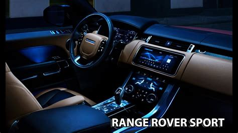 Range Rover Inside by 2018 Range Rover Sport Interior More Comfortable Than
