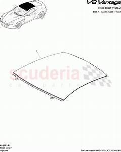 Aston Martin V8 Vantage Roof  Coupe  Parts