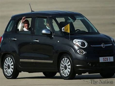 Fiat Ny by Fiat Used By Pope In Ny Fetches 300 000