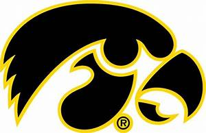 University of Iowa Decals Iowa Hawkeyes Tigerhawk
