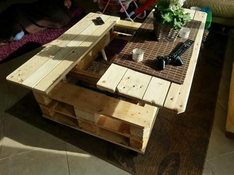 La table basse palette - 60 idu00e9es cru00e9atives pour la fabriquer - Archzine.fr