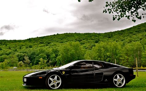 High Definition Picture Of Luxury Car, Picture Of Meadow