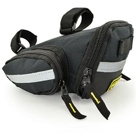 saddle bike bag seat bicycle cycling under pack strap medium lumintrail bags mountain road buying mtb wedge amazon