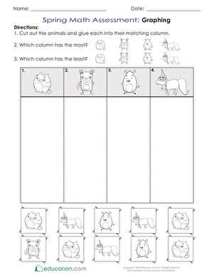 kindergarten sorting categorizing worksheets