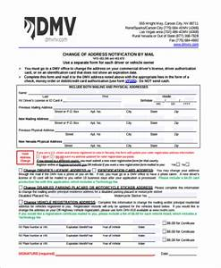 Sample dmv address change form 6 free documents in pdf for Dmv documents needed