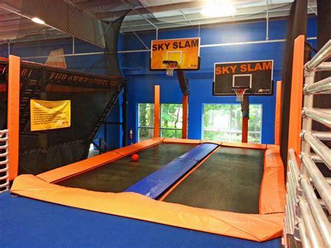 sky zone trampoline park brantley construction