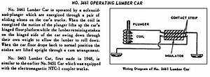 Actual Wiring Diagram For Lionel 3451 Log Car