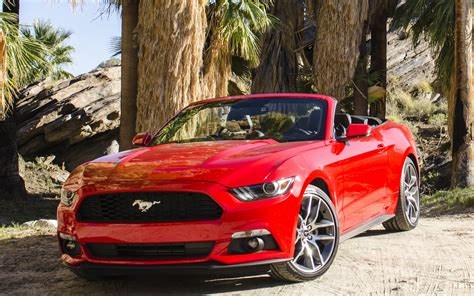 ford mustang ecoboost convertible wallpapers  hd