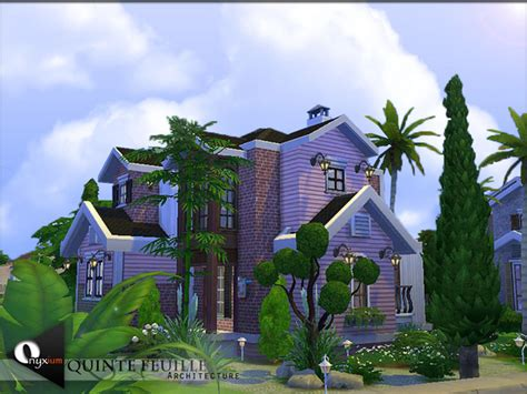 quinte feuille house  onyxium  tsr sims  updates