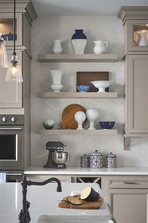 floating shelves aristokraft cabinetry