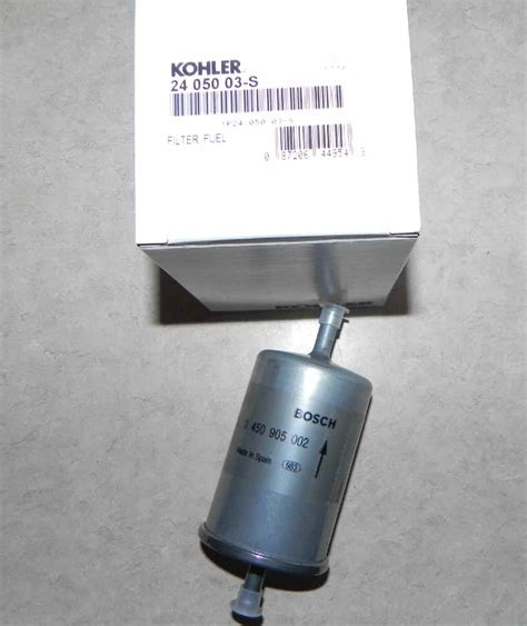 Kohler Fuel Filter by Kohler Fuel Filter Part No 24 050 03 S