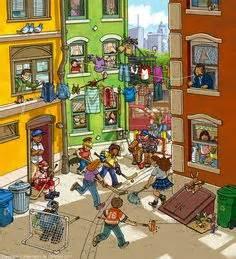 describe  scene picture book esl english lessons