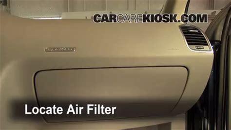 Audi Cabin Air Filter Check