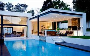 Architecture Swiming Pool House Modern wallpaper ...