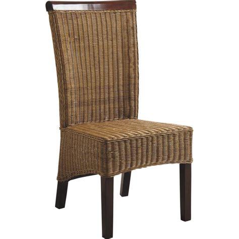 chaise en rotin but chaise en rotin et acajou mch1080 aubry gaspard