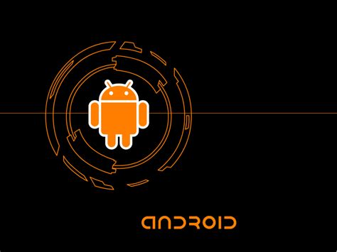 Android Black And Orange Wallpaper by 35 Stylish Looking Android Wallpaper For You