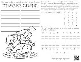 Thanksgiving Coloring Pages Activities