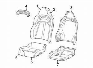 Dodge Viper Seat Cover  Manual Seat  Beige