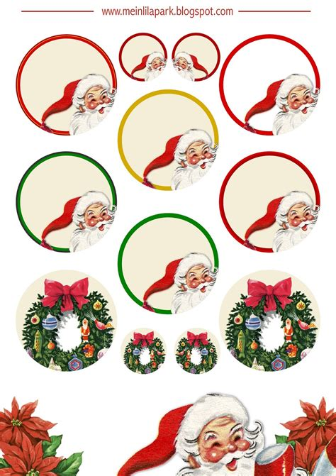 printable christmas planner stickers ausdruckbare