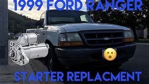 1999 Ford Ranger Starter Replacement