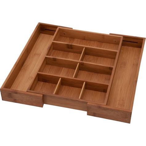 drawer dividers walmart anchor hocking bamboo expandable junk drawer organizer