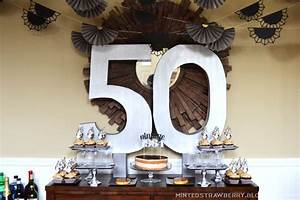DIY: 50th Birthday Party Decorating Ideas - Minted Strawberry