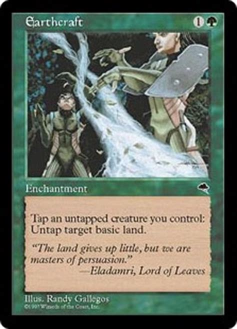 Mtg Infinite Squirrel Deck by Earthcraft Tempest Community Gatherer Magic The