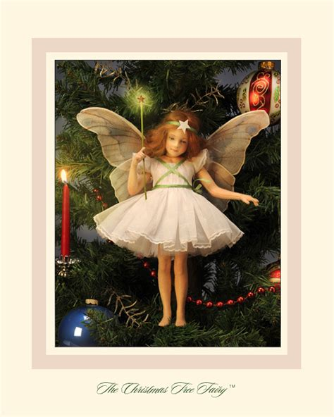 r john wright dolls the christmas tree fairy doll